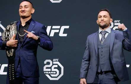 Esta noche UFC 240 con el cinturón del peso pluma en juego