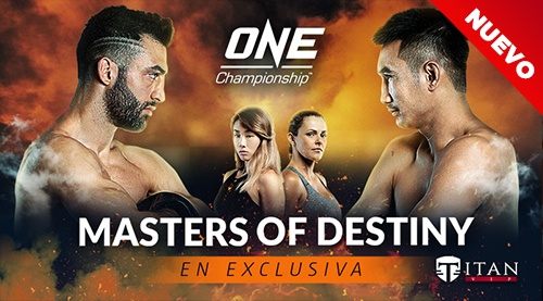 """<h6><span style=""""color: #ffffff"""">ONE CHAMPIONSHIP - MASTER OF DESTINY <br> <a href=""""https://www.titanvip.tv/one-championship-master-of-destiny/""""><span style=""""color: #808080""""><span style=""""color: #a97718"""">AXIATA ARENA, KUALA LUMPUR</span></span></a></span></h6><p style=""""text-align: center"""">[button type=""""transparent"""" shape=""""rounded"""" size=""""small"""" href=""""https://www.titanvip.tv/one-championship-master-of-destiny/"""" title=""""""""] VER EVENTO [/button]</p>"""