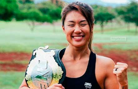 Angela Lee quiere volver a los triunfos en ONE Championship 100 tras perder dos peleas seguidas