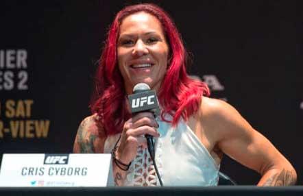 Cris Cyborg no quiere hablar sobre la renovación de su contrato con UFC