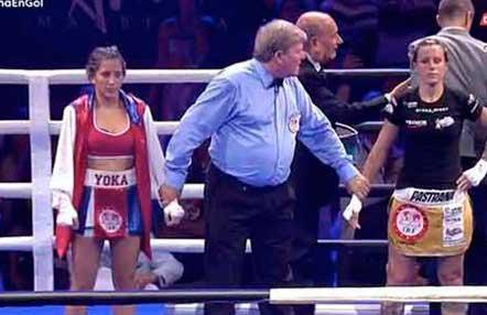 Joana Pastrana pierde a los puntos su título mundial ante la costarricense Valle