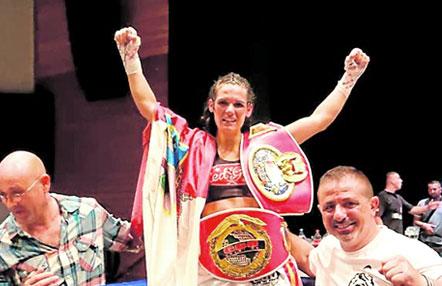 Mari Carmen Romero, campeona de Europa en el peso gallo