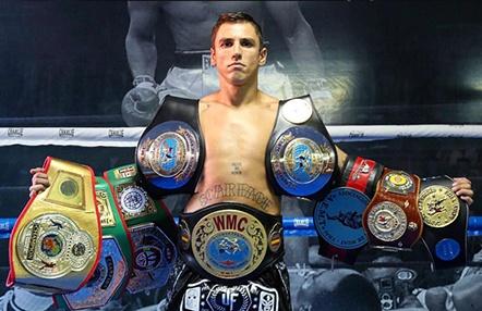 Jonathan Fabian la esencia del luchador