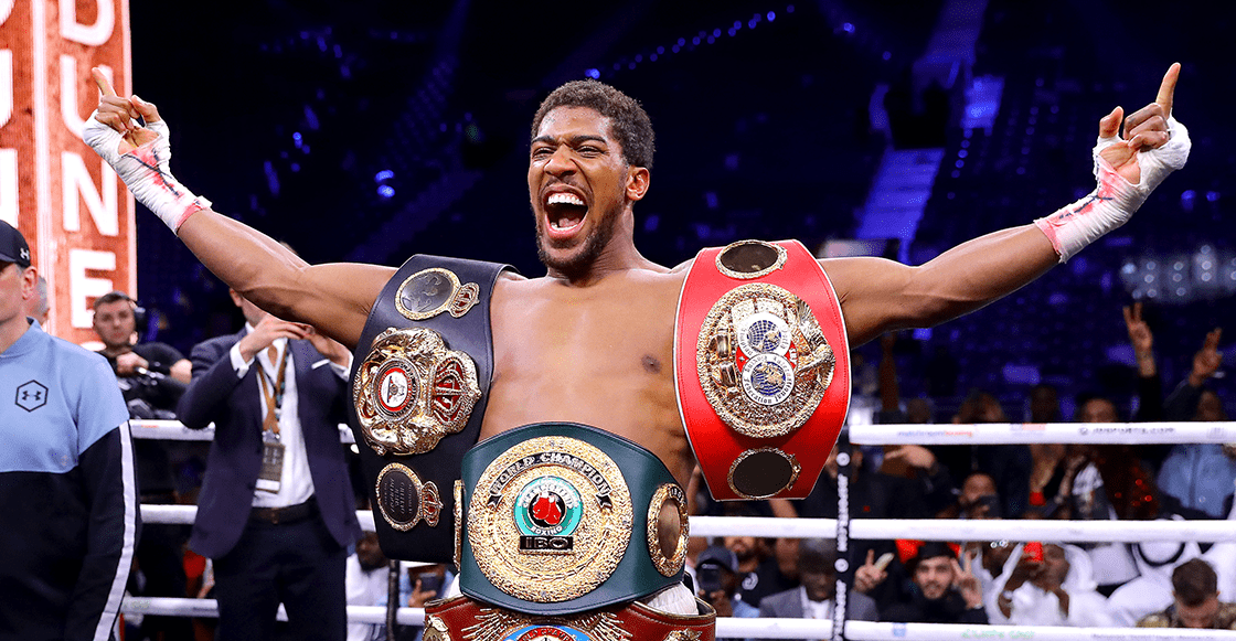 Anthony Joshua, dispuesto a ser sparring de Tyson Fury