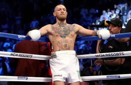 """Conor McGregor va """"muy en serio"""" con ser campeón del mundo de boxeo"""