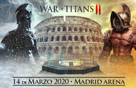Ya disponible el cartel de War of Titans II: el mayor evento nacional de MMA, K1 y Muay Thai