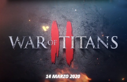 Comunicado 'War of Titans II'
