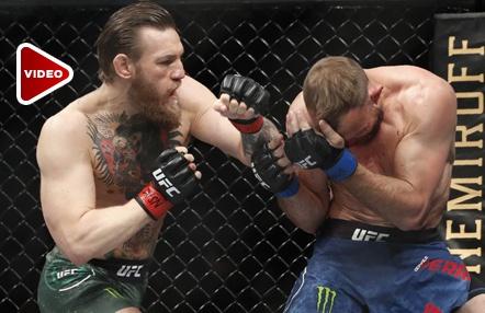 Los 'hombrazos' de McGregor a Cerrone que todos quieren imitar