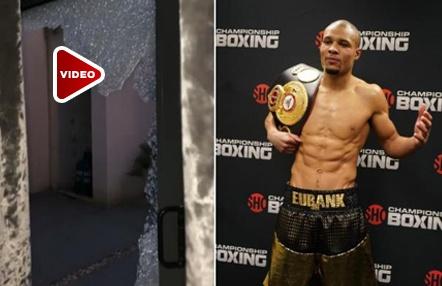 El boxeador Chris Eubank Jr. se burla de los ladrones que asaltaron su mansión