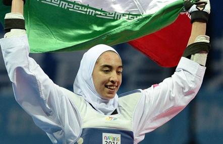 Kimia Alizadeh, la taekwondista que dejó Irán y el velo, podría representar a Alemania en los JJ.OO.