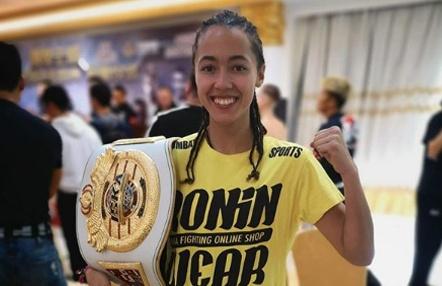 Lara Fernández gana el mundial de K1