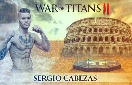 """Sergio 'The predator' Cabezas: """"Quiero que el cinturón de campeón de Europa se quede aquí conmigo"""""""