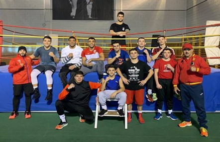 El equipo nacional de boxeo ya está en Bulgaria para competir en Strandja