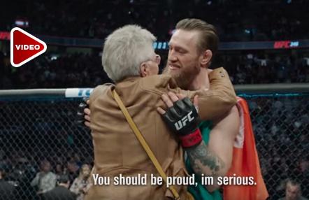 Sale a la luz la conversación de Mcgregor con Cerrone tras el tremendo K.O… ¡y con su abuela!