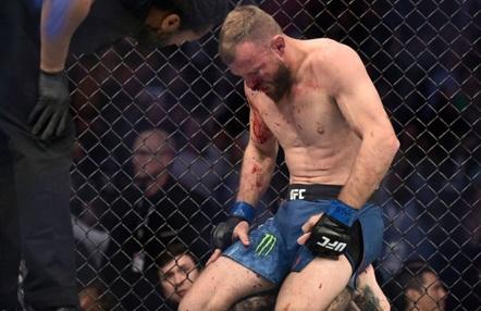 Los golpes de McGregor pueden dejar fuera a Cerrone seis meses
