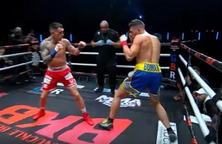 Imponente KO en una pelea de boxeo sin guantes en Bare Knuckle FC