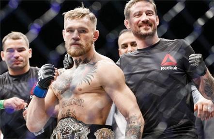 """Kavanagh afirma que McGregor """"está mejor que nunca"""" para UFC"""