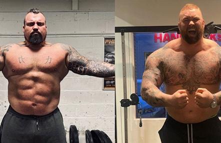 Boxeo entre 'strongman': Eddie Hall y Hafhtor Bjornsson se medirán en un combate