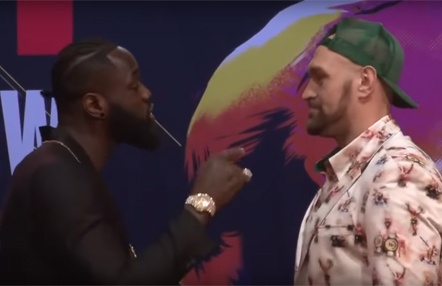 Tyson Fury y Deontay Wilder calientan la revancha