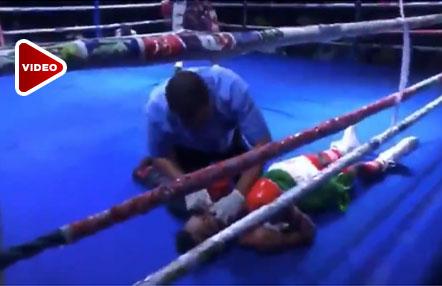 """Mega K.O."" de un boxeador con el que manda a su rival al hospital"