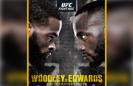 Sale a la luz el primer cartel UFC Londres: Tyron Woodley vs. Leon Edwards