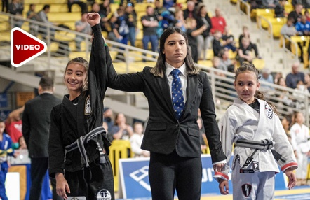 Alejandra Boixader conquista los kids Panamericanos de Jiu-Jitsu brasileño