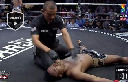 Un árbitro salva la vida de un luchador tras recibir un brutal codazo