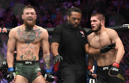 """Khabib dice """"no"""" a McGregor y a Mayweather: """"Ni por 100 millones de dólares"""""""