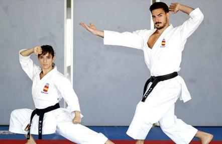 Damián Quintero y Sandra Sánchez, primeros del ranking olímpico y en la Federación Mundial de Kárate