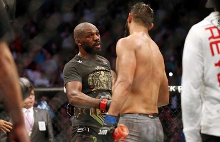 Dominick Reyes revela la conversación con Jon Jones tras caer derrotado