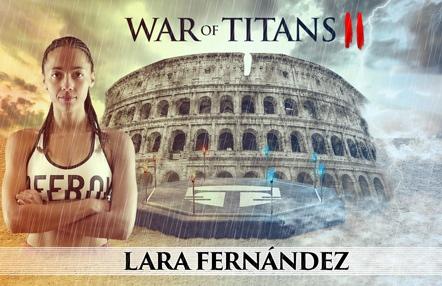 """Lara Fernández se prepara para WOT II: """"Me siento mucho más fuerte y con más confianza que nunca"""""""
