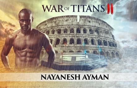 Nayanesh Ayman, el 'León' que rugirá en la jaula del War of Titans II