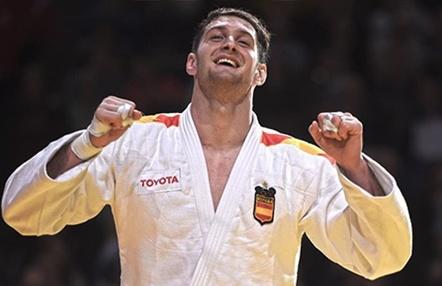 El judoka español Niko Shera se corona en París