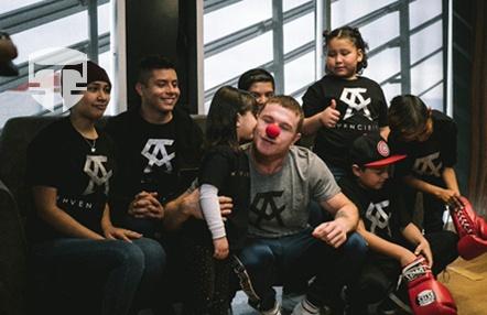 El 'Canelo' Álvarez más solidario: así ayudará a niños enfermos de cáncer