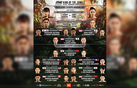 'ONE: King of The Jungle': Stamp Fairtex vs. Janet Todd, una revancha épica en Titan Channel