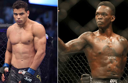 Se acerca el duelo de Israel Adesanya vs. Paulo Costa