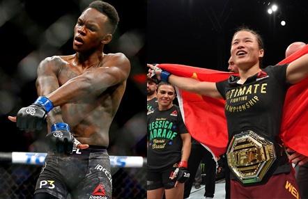 Adesanya y Zhang, las dos estrellas de Dana White en UFC 248