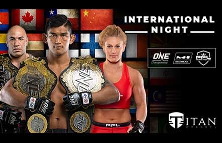 'International Night' ya disponible en Titan Channel: Los mejores combates de ONE, PFL Y M1-Global en un solo evento