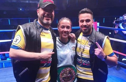 Lara Fernández se proclama campeona mundial de la WBC Muay Thai en Londres