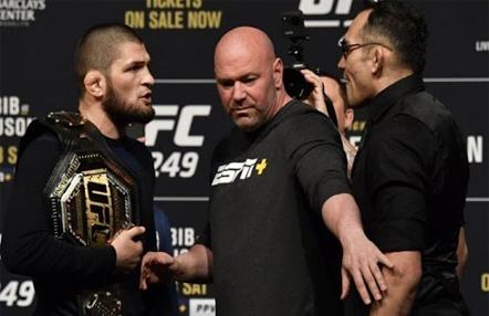 UFC habla claro sobre el Nurmagomedov vs Ferguson