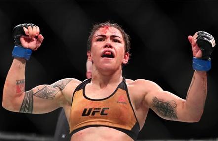 La UFC pide a Jessica Andrade que abandone Brasil
