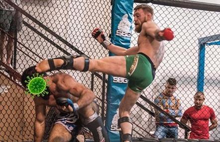 """McGregor le da 'una paliza' al Covid-19: """"Toma esto, coronavirus"""""""