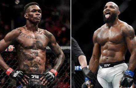 UFC 248: Israel Adesanya se enfrentará a Yoel Romero y Weili Zhang a Joanna Jedrzejczyk