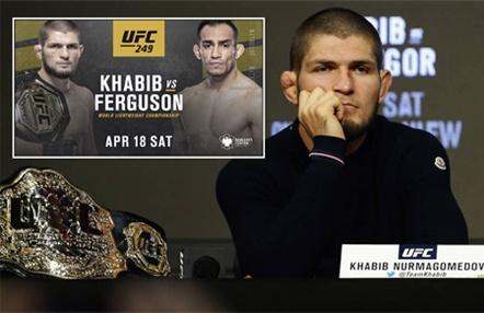 """Khabib renuncia a UFC 249: """"Estoy más molesto que vosotros por cancelar la pelea"""""""