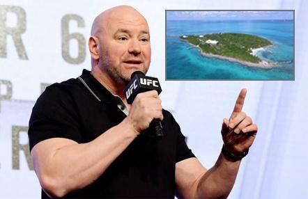 Fight Island, el plan de UFC que tendrá lugar en julio