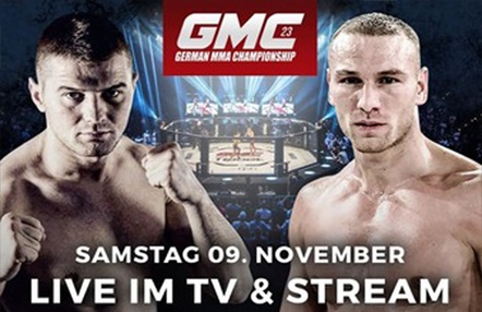 Disponible GMC 23 en Titan Channel, uno de los mayores eventos de MMA en Europa