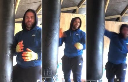 Polémico tutorial de un boxeador explicando cómo golpear a una mujer