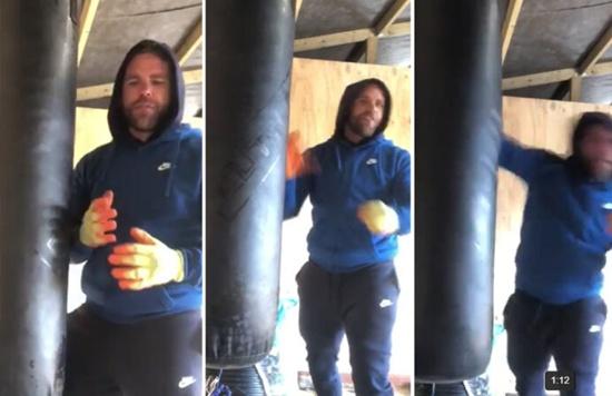 Polémico tutorial de un boxeador explicando como golpear a una mujer