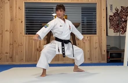 Sandra Sánchez sigue entrenando en el tatami de su casa con la vista puesta en los JJOO de Tokio
