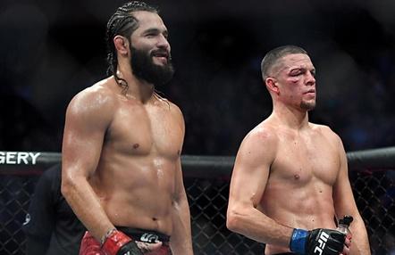 Revancha en UFC: Jorge Masvidal y Nate Diaz por el cinturón BMF